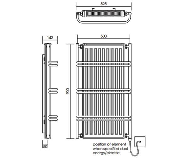 Technical drawing QS-V88595 / TM001 BR090052CP