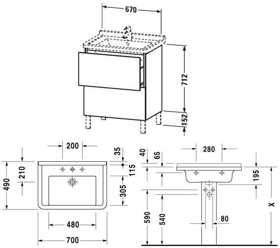 Technical drawing QS-V81959 / LC660801818