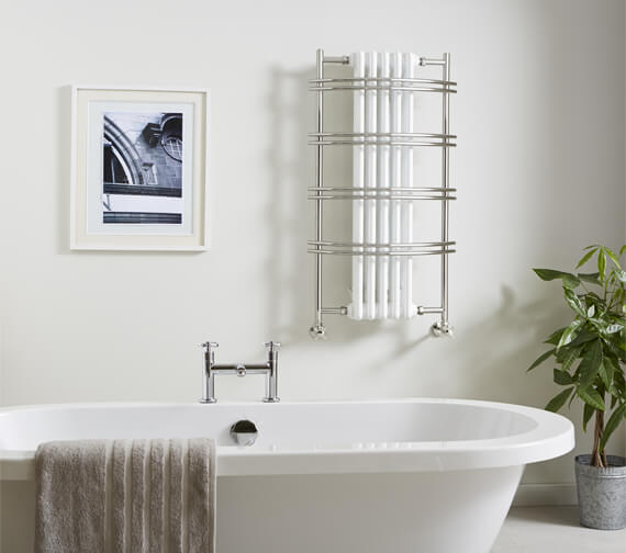 Vogue Sequel III 550 x 1000mm Traditional Towel Rail