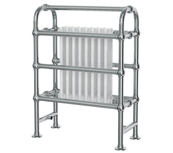 Vogue Baroque 675 x 900mm Traditional Towel Rail