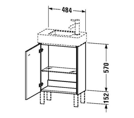 Technical drawing QS-V95828 / BR4431L1818