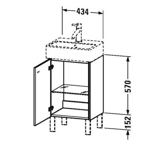 Technical drawing QS-V95830 / BR4430L1818