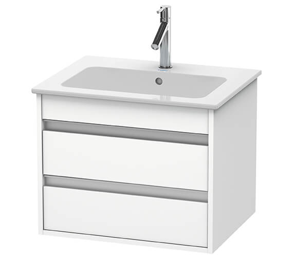Duravit Ketho 2 Drawer Wall-mounted Vanity Unit For ME By Starck Basin