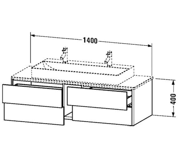 Technical drawing QS-V99068 / XS4915M1818