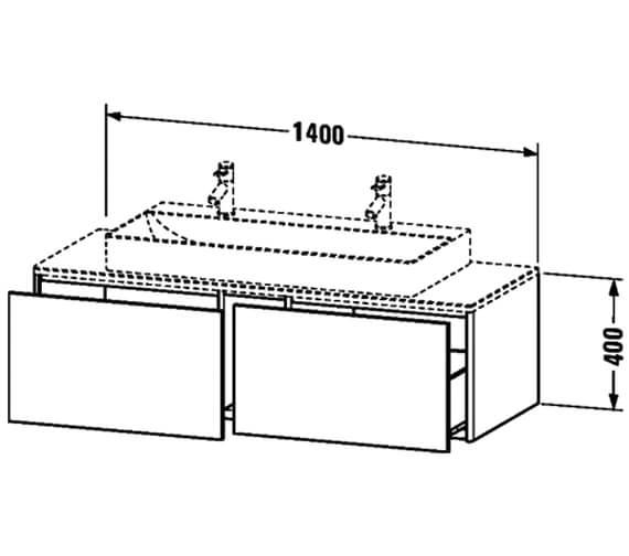 Technical drawing QS-V99066 / XS4905M1818