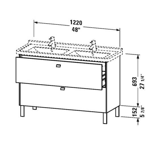 Technical drawing QS-V95824 / BR442401818