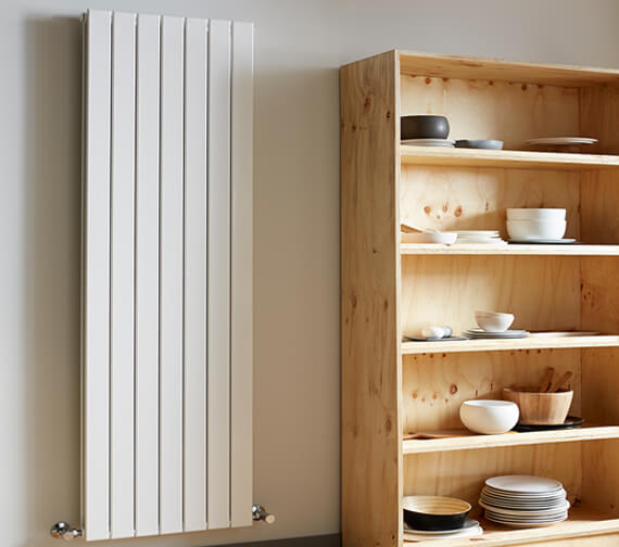 Alternate image of Vogue Fly Line 1800mm Height Double Panel Vertical Radiator