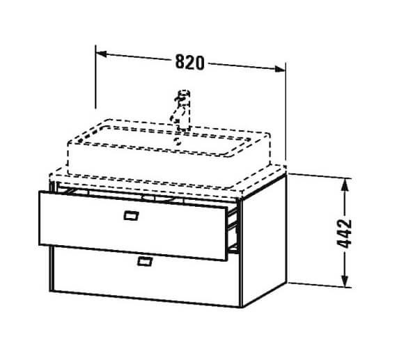 Technical drawing QS-V95859 / BR510701818