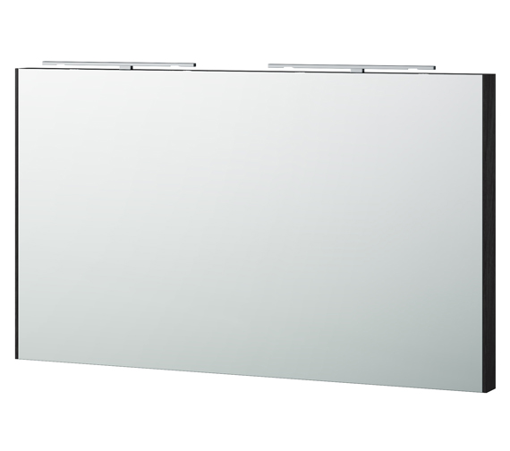 Alternate image of Miller London 120 White Framed Mirror