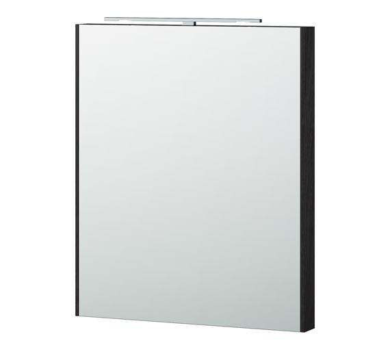 Alternate image of Miller London 60 White Framed Mirror