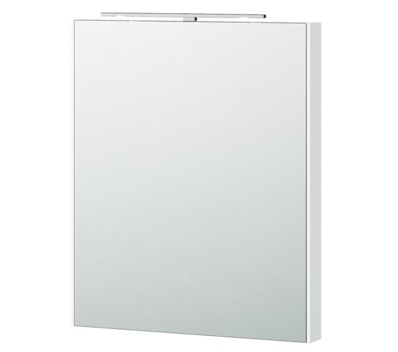 Miller London 60 White Framed Mirror