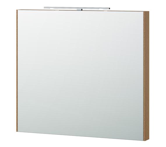 Alternate image of Miller London 80 White Framed Mirror