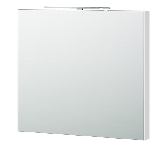 Miller London 80 White Framed Mirror