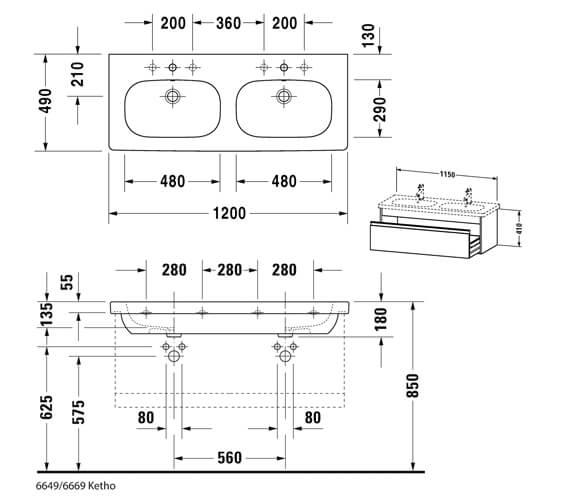 Technical drawing QS-V42520 / KT666901818