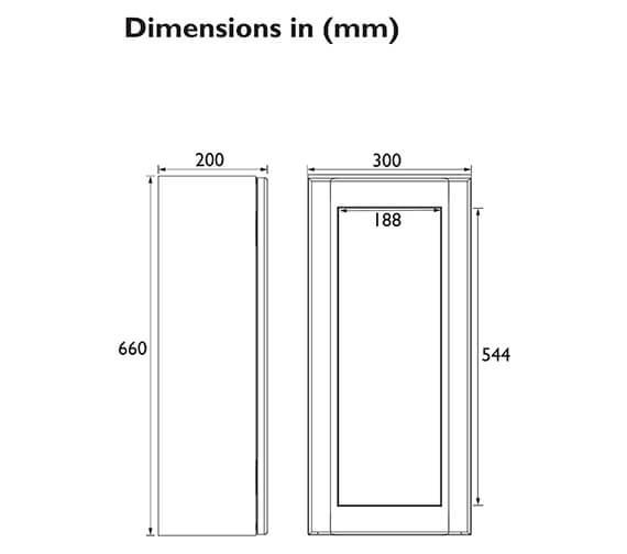 Technical drawing QS-V100614 / FFDGRMWU300