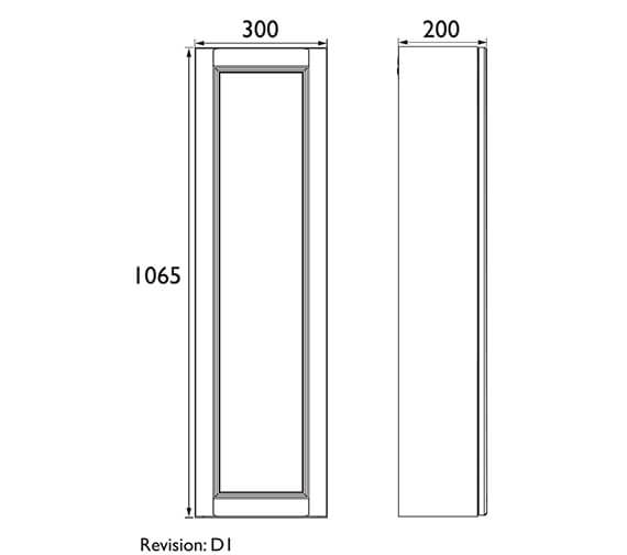 Technical drawing QS-V100617 / FFDGRSOWU300