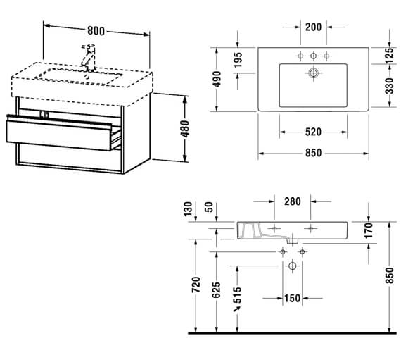 Technical drawing QS-V59129 / KT664001818