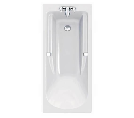 Alternate image of Twyford All 1700 x 750mm Rectangular Acrylic Bath TA8500WH