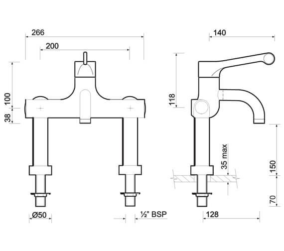 Technical drawing QS-V96210 / SF1133CP