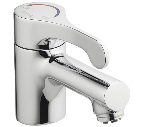 Twyford Sola Sequential Lever Action Mixer Tap With Flexi Tails