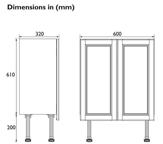 Technical drawing QS-V101005 / FFDGRBU600