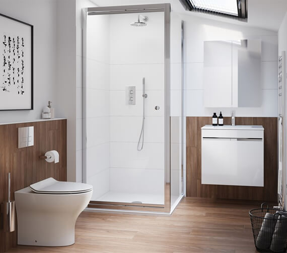 Alternate image of Crosswater Kai Single Drawer Unit With Basin With Overflow
