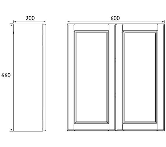 Technical drawing QS-V89438 / FFDGRWU600