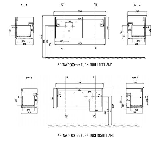 Technical drawing QS-V99077 / AN1000DMO_LH