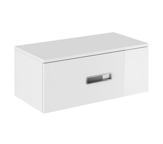 Crosswater Seattle Wall Hung Single Drawer Console Unit