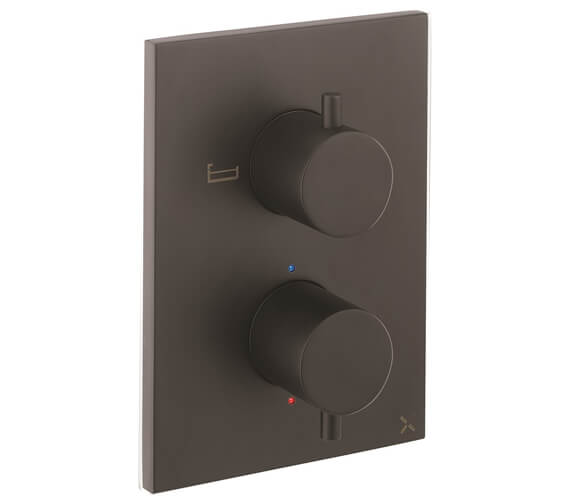 Additional image of Crosswater MPRO Crossbox 1500 Valve With 2 diverter