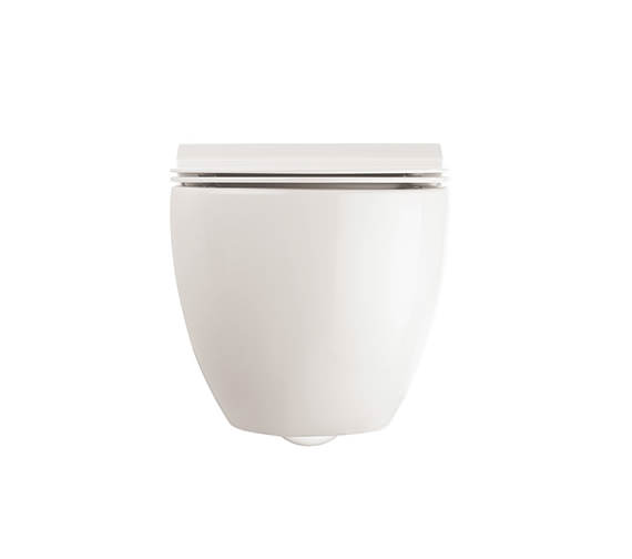 Additional image of Crosswater Glide II Wall Hung Short Projection Rimless Toilet