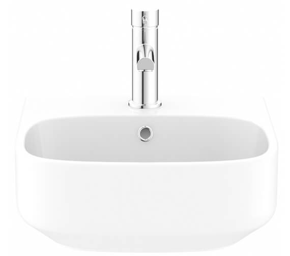 Crosswater Kai S Wall Hung Basin With One Taphole