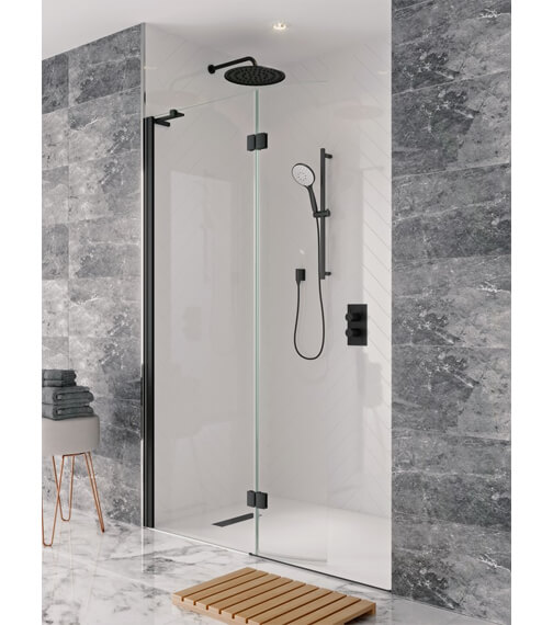 Additional image of Crosswater Design View Walk In Easy Access Shower Enclosure 1400mm