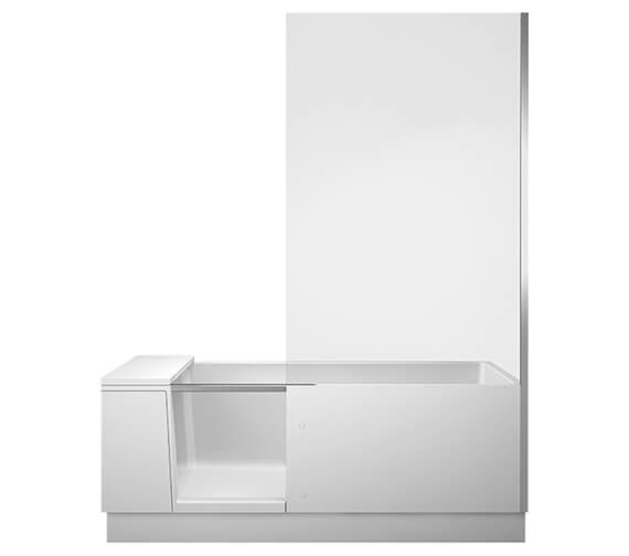 Additional image of Duravit 1700 x 750mm Shower Bath