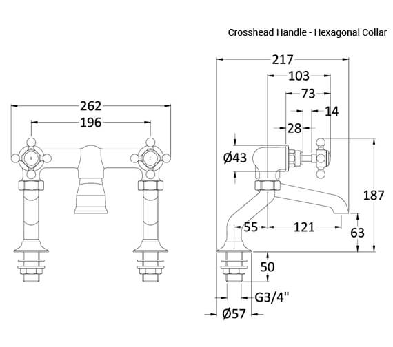 Technical drawing QS-V90908 / BC303HX