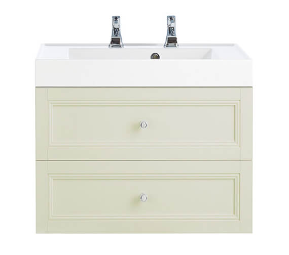 Additional image of Heritage Caversham 700mm Wall Hung 2 Drawer Vanity Unit