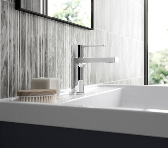 Hudson Reed Willow Single Lever Chrome Basin Mixer Tap