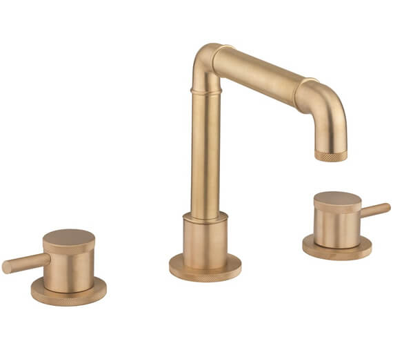 Additional image of Crosswater MPRO Industrial Deck Mounted 3 Hole Basin Tap