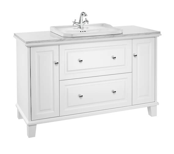 Roca Carmen Traditional Style Large Vanity Unit 1300mm For Countertop Basin