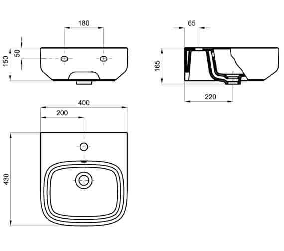 Technical drawing QS-V100531 / KLS001SCW