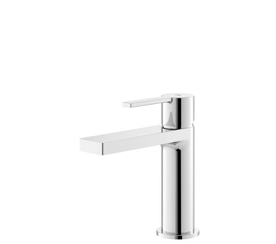 Additional image of Hudson Reed Willow Single Lever Chrome Basin Mixer Tap