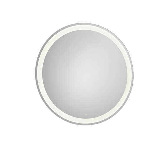 Roca Iridia Round Mirror With Perimetral LED Lighting And Demister Device