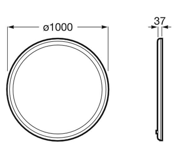 Technical drawing QS-V99635 / 812337000