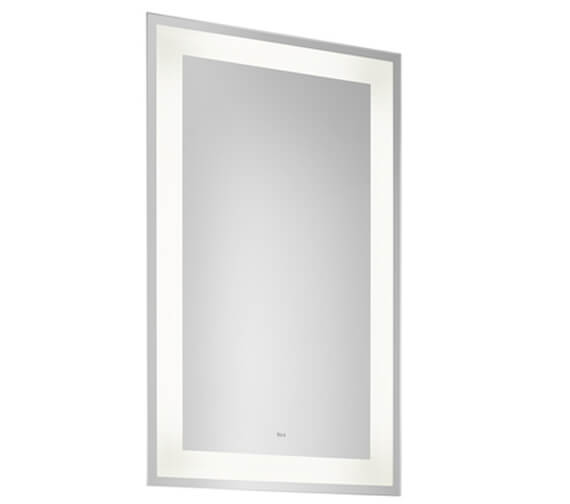 Roca Iridia Mirror With Perimetral Led Lighting And Demister Devise