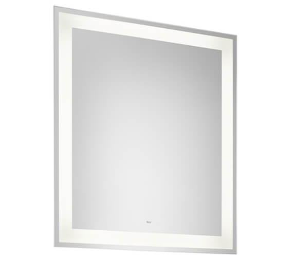 Additional image of Roca Iridia Mirror With Perimetral Led Lighting And Demister Devise