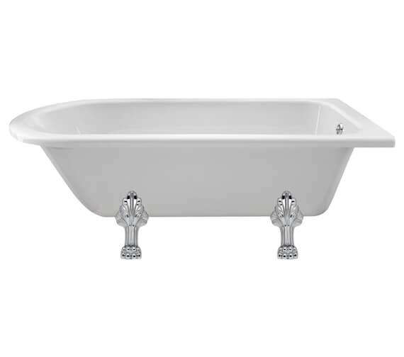Alternate image of Hudson Reed Winterburn Freestanding Acrylic Bath With Leg Set