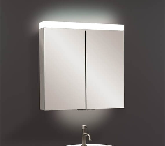 Additional image of Crosswater Image Double Sided Mirror Door Cabinet