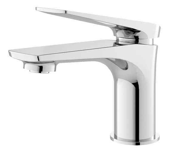 Hudson Reed Drift Single Lever Chrome Basin Mixer Tap With Waste