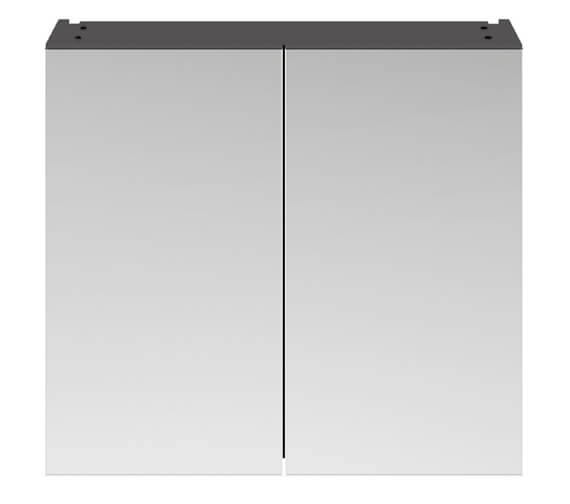 Alternate image of Hudson Reed Fusion 800mm Double Door 50-50 Compact Mirror Cabinet