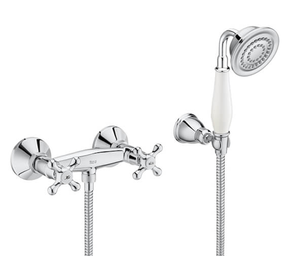 Roca Carmen Wall-Mounted Shower Mixer Valve With Kit